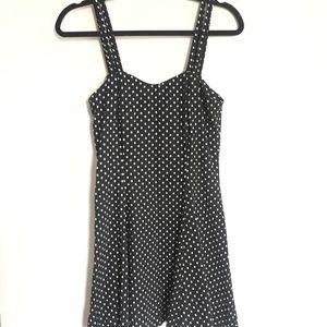 Vintage All That Jazz Polka Dot spaghetti dress